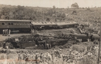 Train accident on 23rd April 1941