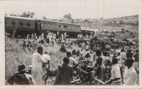 Train accident (from far)