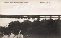 Salisbury Bridge, Kilindini Uganda Railways - Mombasa B.E.A.