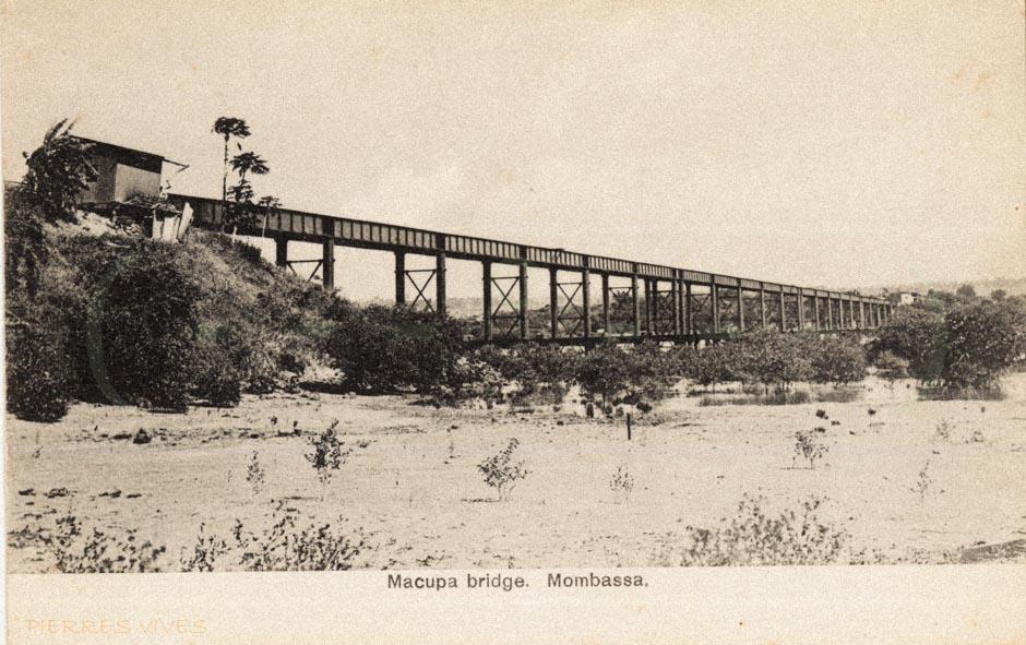 Macupa Bridge. Mombassa