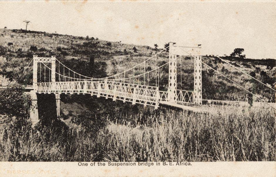 One of the Suspension Bridge in B.E.Africa