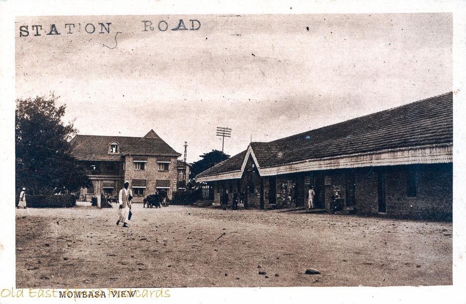 Mombasa View (Railway Station ?)