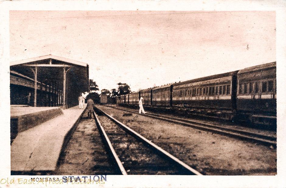 Mombasa View (Railway Station Platform)