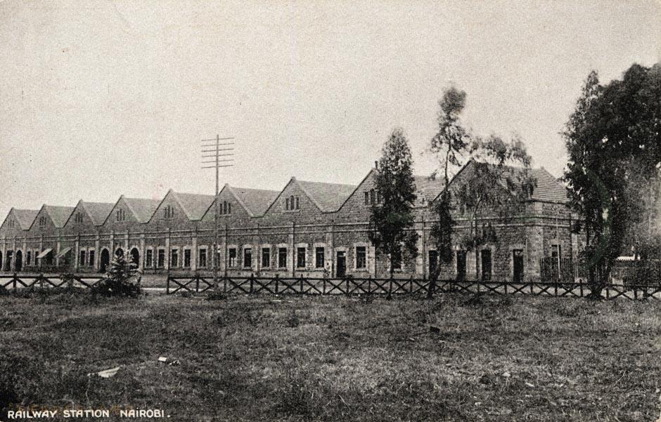 Railway Station. Nairobi