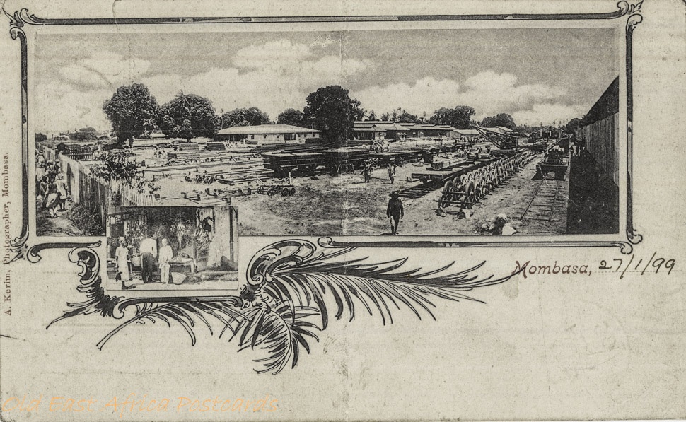 nil (the Uganda Railway Workshop)