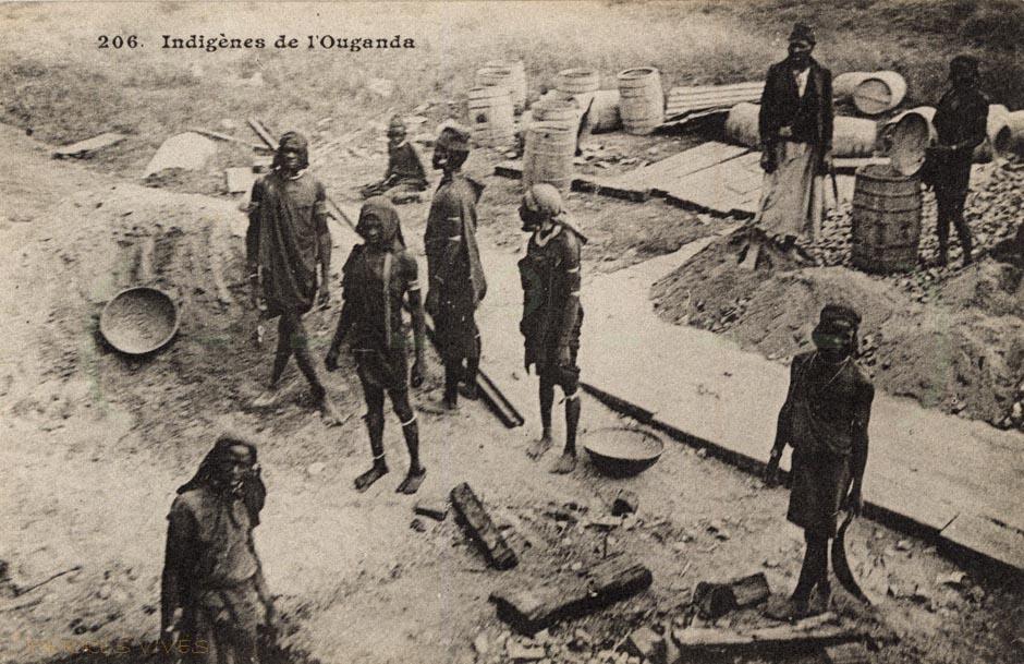 Indigènes de l'Ouganda