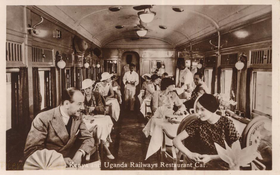 Uganda Railways Restaurant Car