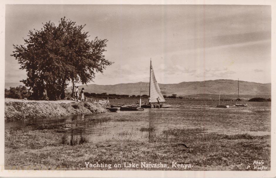 Yachtiing on Lake Naivasha, Kenya