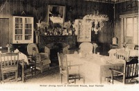 Winter dining room at Clairmont House near Nairobi