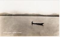 Native dugout, Victoria Nyanza