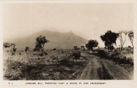 Longido Hill. Frontier post & scene of war