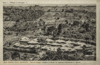 Tipo di villagio indigeno al Kenya