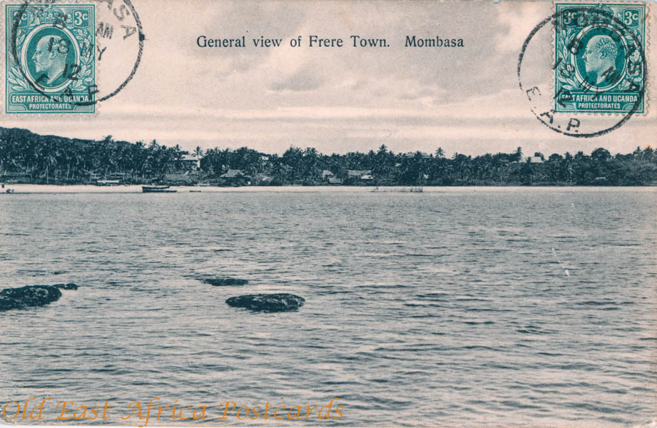 General View of Frere Town. Mombasa