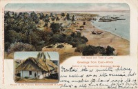 The Island and town of Lamu - House of the Pokomo Native-assistants at Lamu