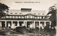 Government House. Mombasa