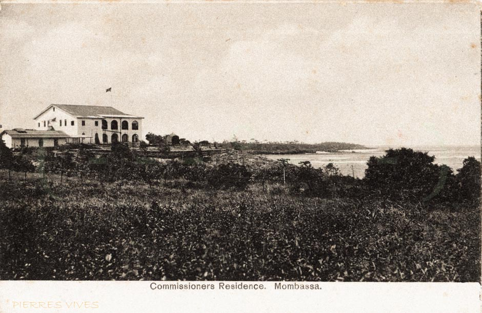 Commissionners Residence. Mombassa.