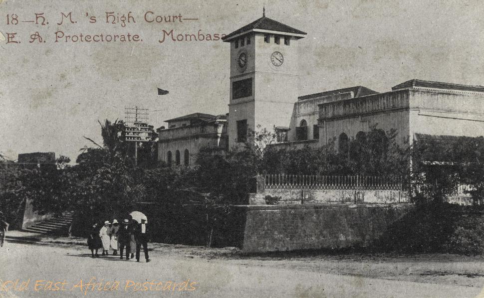 H.M. s High Court - E.A. Protectorate