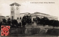 H.M.Court of East Africa, Mombasa