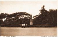 The Public Gardens - Mombasa - Kenya colony