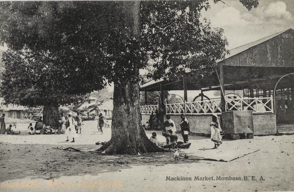 Mackinon Market, Mombasa. B.E.A.
