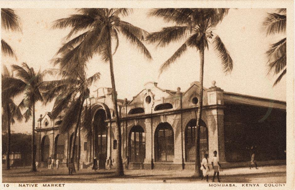 Native Market - Mombasa - Kenya colony