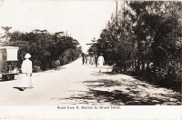 Road from R. Station to Grand Hotel
