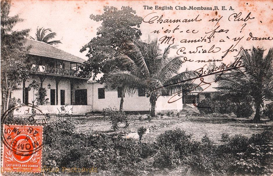 The English Club, Mombasa - B.E.A.