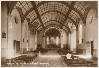 Interior of Catholic Church, Mombasa