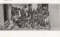 Slaves recued by H.M.S. Philomel, April 1894