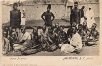 Native Prisoners. Mombasa, B.E.Africa