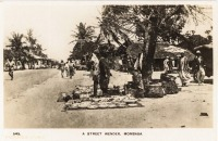 A Street Wender, Mombasa