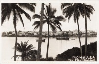 MOMBASA view from mainland