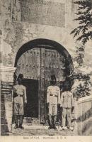 Gate of Fort. Mombasa. B.E.A.