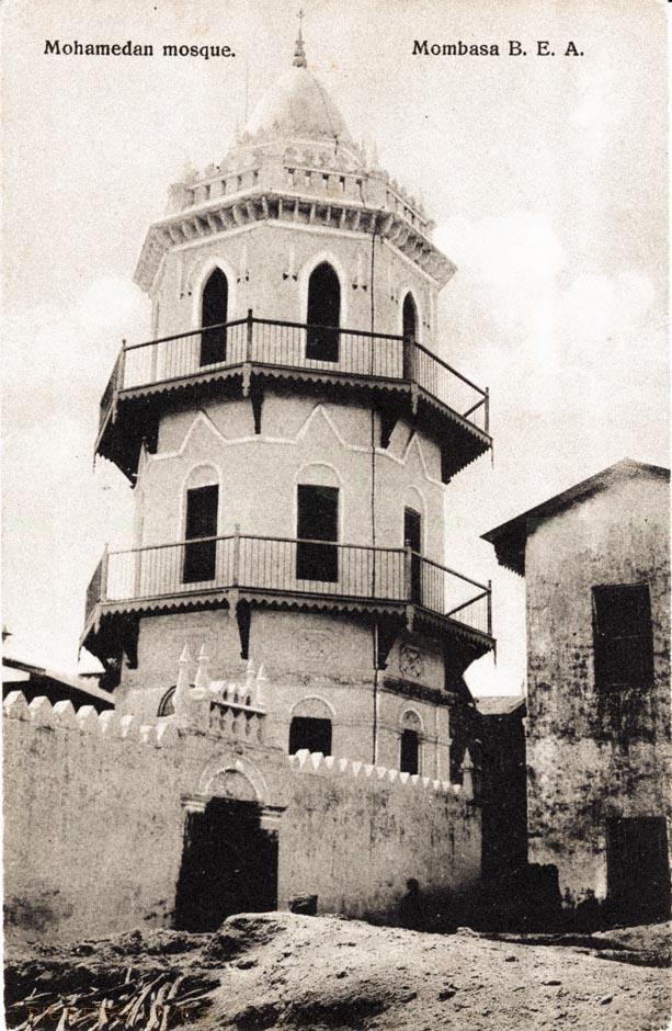 Mohamedan Mosque, Mombasa B.E.A.