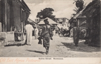 Native Street. Mombasa