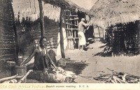 Swahili woman washing