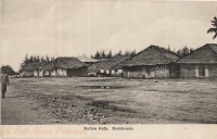 Native Huts. Mombasa