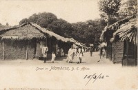 Street in Mombasa B.E.A.