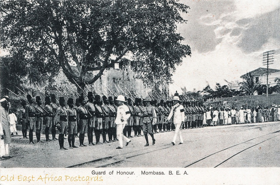 Guard of Honour, Mombasa B.E.A