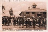La Fattoria provede regolarmente il cibo alle Missioni a mezzo di carovane
