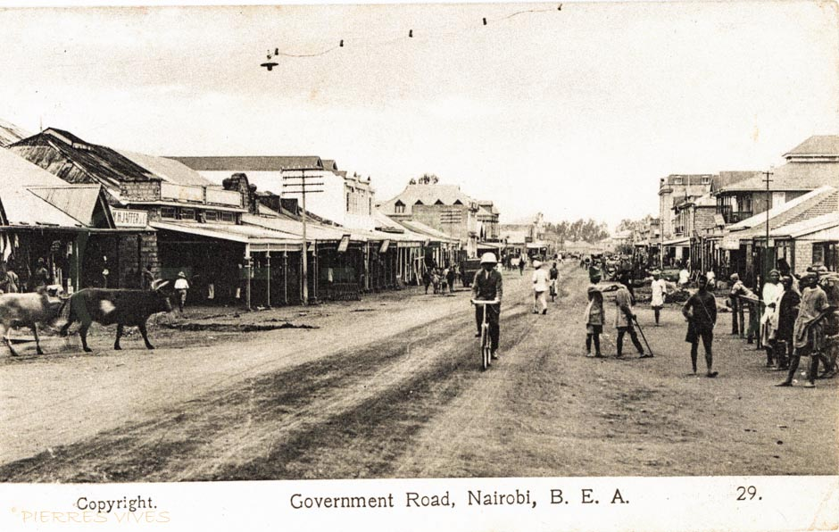 Government Road, Nairobi B.E.A.