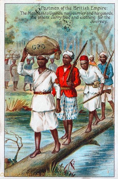 Postmen in the British Empire