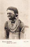Kikuyu Gentleman BRITISH EAST AFRICA