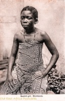 Swahili Girl, Mombassa