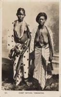 Coast Natives. Tanganyika.