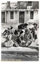 A group of Arabs, Zanzibar