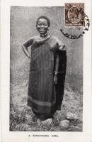 A Tanganyika Girl
