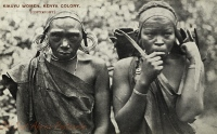 Kikuyu Women, Kenya Colony