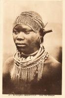 Afrique orientale - Jeune fille Kikuyu