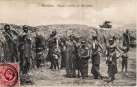 Mombasa. Masai family at Naivasha